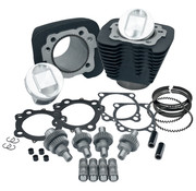 S&S Sportster 1200 Kits de mise à jour du moteur 2000-2016 Sportster 1200 to1250 kit