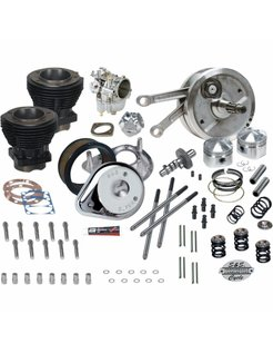 """Harley Engine 93"""" Hot Set Up Kit for 1973-' 77 Harley-Davidson® Harley Big Twin   includes 4-1/2"""" stroker flywheels"""