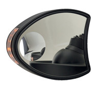 mirror fairing monted mirrors with Turnsignals: for Touring FLH/FLT