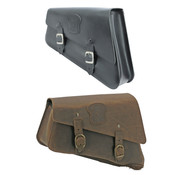Texas leather Engine   Sportster XL side bags Black or Brown