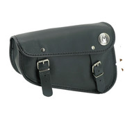 Texas leather bolsas laterales Sportster Eco-Line - negro o marrón suave