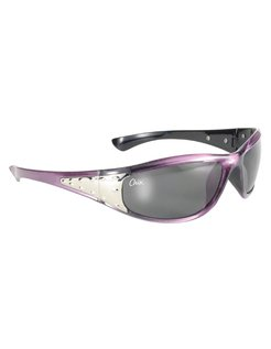 Goggle / Sunglasses Chix Sterling Grey Gradient Lenses with Pearl Purple Frame