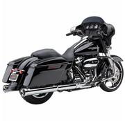 Cobra exhaust NH Series slip-ons Chrome or Black - Fits:> 2017 Touring FLH/FLT