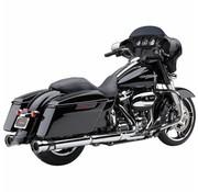Cobra exhaust 4.5 inch RPT Slip-ons Chrome or Black - Fits:> 2017 Touring FLH/FLT
