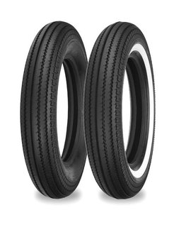 motorcycle tire 4.00 H 18 inch E270 64H Black or Single white stripe