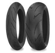 Shinko motorcycle tire 120/70 ZR 17 F011 58W TL - F011 Verge radial front tires