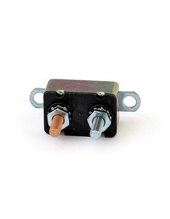 Fuse circuit breaker auto reset - dual mount tab