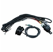 Kuryakyn cable Driving light wiring/relay kit control mounted Fits:> 96-16 H-D (exclude. 15-16 FLTRSX/S FLTRU FLHX/S)