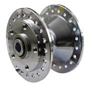 MCS wheel front hub Chrome - Fits:> 84-99 FX XL Dyna
