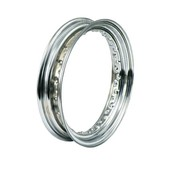 MCS wheel Rim dropcentre - 3.00 x 16 Inch – chrome