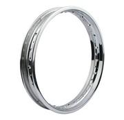 MCS wheel Rim 40 Spoke Custom Style - 1.85 X 21 Inch - Chrome