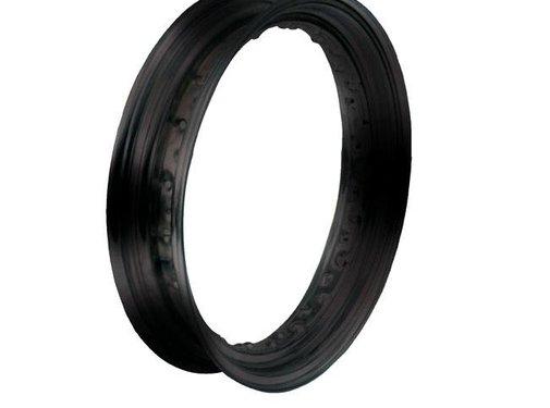 MCS wheel Rim 40 Spoke dropcentre - 4.5 X 16 Inch - Black
