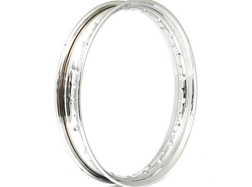 WL rim - 18Inch - Chrome, Fits 30-48 Bigtwin, 42-43 WLC front; 35-52 WLA rear