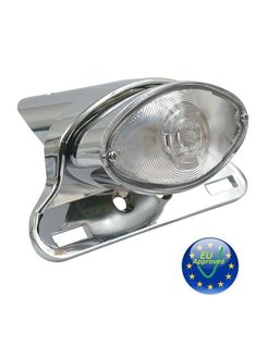 taillight LED cateye Fits:> universal clear lense