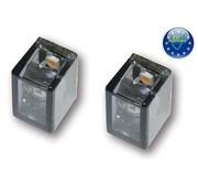 MCS Micro tube V-Mini LED turnsignals - LED - paire