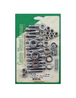 Allen bolt footpeg kit: Fits: >91-05 DYNA