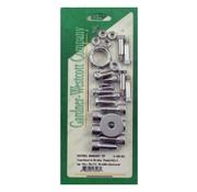 GARDNER-WESTCOTT Controls Allen bolt footpeg kit: Fits:> 00-06 Softail
