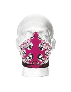 Accessories Face mask HOTROD FLAMES - LADIES