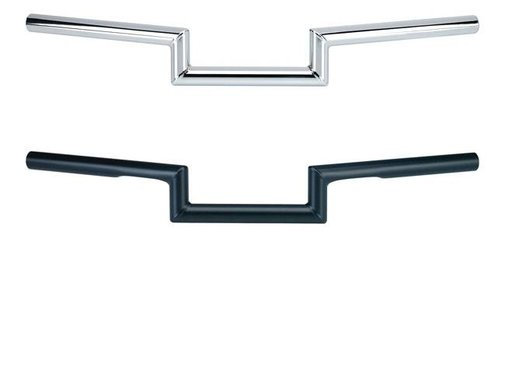 Biltwell Maynard 1 inch; handlebar non dimpled Black or Chrome Fits: > 82-14 H-D (exclude 08-14 E-Throttle); 88-11 Springers)
