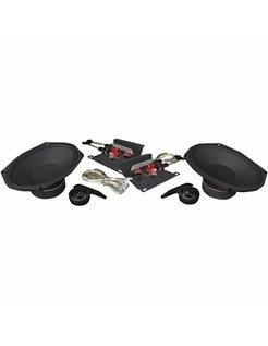 audio  Speaker kit 6X9 4O Ohm 250Watt Fits:> 14‐17 FLHT/FLHX/FLHR/FLTRX/FLTRU