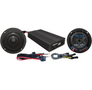 audio  Speaker/Amplifier kit 400 Watt Fits:> 14‐17 FLHX