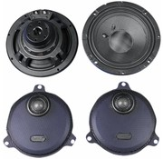 audio  Rokker rear Speakers kits Fits:> 14‐17 FLHT/​FLHX (except Twin Cooled )