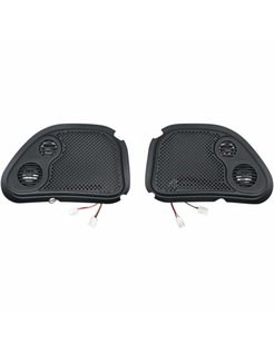 audio  RokkerFairing/Rear Speakers Grilles Fits:> 98‐13 FLTR/X