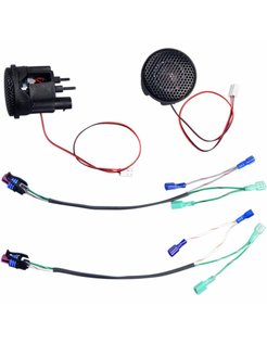 audio  Rokker tweeter kits Fits:> 98‐13 FLHT/FLHX/FLTR