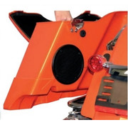 audio  Rokker XT Subwoofer speakers kits Fits:> 98‐13 FLHT/​FLHX/​FLTR with hard saddlebags