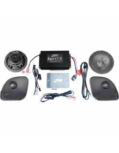 audio  Rokker XXR Extreme Speaker/Amplifier kit 330 Watt Fits:> 15‐16 FLTR