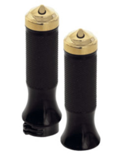 handlebars Grips Oldstyle with domed end caps
