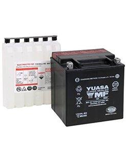 AGM Maintenance Free YUAM6230X Fits:> 97‐17 FLT/FLHT/FLHX/ FLHR/FLTR and H‐D FL Trikes