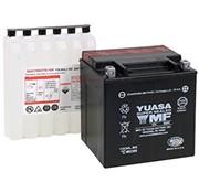 Yuasa AGM Maintenance YUAM320BS gratuit Convient à:> 91-17 FXST / FLST, Dyna Glide; 11-13 FXS, 12-17 FLS, 13-17 FXSB / SE, 97-03 XL