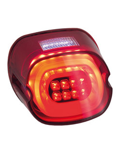 layback LED taillight, Red lense