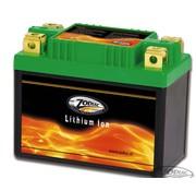 Zodiac incluye batería de litio - 60 vatios por hora, 300CCA adapta a:> FXR 1982-1994, Dyna desde 1997 al presente, Softail del 1986 en adelante, Sportster 1979-2003