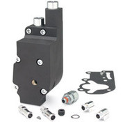 Jims Oil pump High Flo Black or Polished - Fits:> 73-91 Big Twin TOP FEED & RETURN CONNECTION