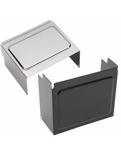 Battery cover Black or chrome - Fits:> 97-05 FXD/​FXDWG, 97-03 XL
