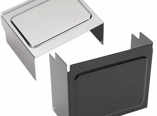 Batteriefachdeckel Schwarz oder Chrom - Passend für:> 97-05 FXD / FXDWG, 97-03 XL