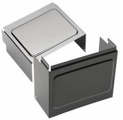 Batteriefachdeckel schwarz oder chrom - Passend für:> 97-05 FXD / FXDWG, 99-04 FXDX, 01-03 FXDXT, 97-13 XL Sportster; Repl. OEM # 66375-97