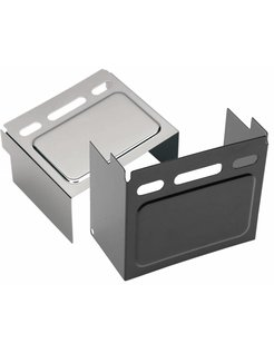 Battery cover Black or chrome - Fits:> 91-96 FXD/FXDWG, 85 FXE, 82-99 XL, raised panel (viewing window); repl. OEM #66347-91