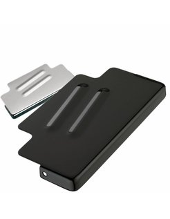 Battery top cover Black or chrome - Fits:> 91‐96 FXD/​FXDWG; repl. OEM #66368‐90