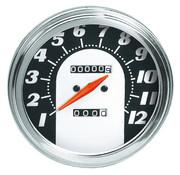 Zodiac speedo speedometers for fxwg-fxst- flst : 1962 - 1967 face