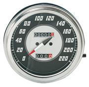 Zodiac speedo speedometers Black face 1946-1947 Style in KM/h