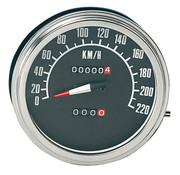 Zodiac speedo speedometers Black face 1968-1984 Style in KM/h