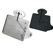 CPV License Kit de support de plaque, poli ou noir: taille 143x210mm plaque d'immatriculation