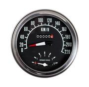 Zodiac speedo tachymétrique pour la graisse bob tirets Km / h - avant ou transmission entraînée