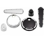 Arlen Ness Dash Kit de protection Fente Track - Convient à:> 08-13 FLHX / FLTRX