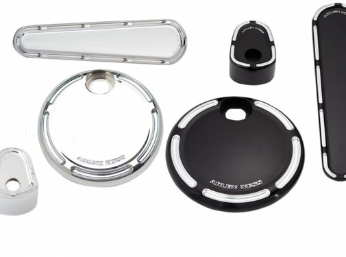 Arlen Ness gas tank dash  cover kit Slot Track - Fits:> 08‐13 FLHX/FLTRX