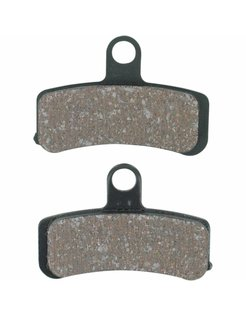 brake pad Front organic: for 08-17 FXD