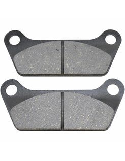 brake pad Rear organic: for 84-85 FLT/FLHT
